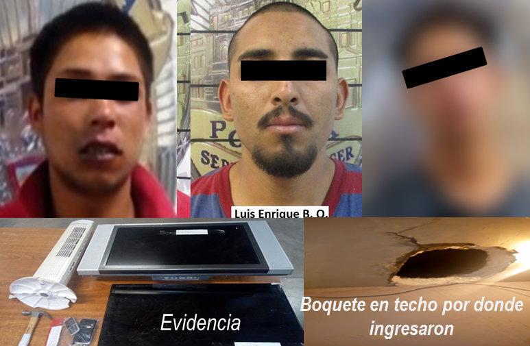 Tres detenidos por robo1