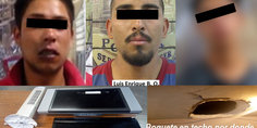 Relacionada tres detenidos por robo1