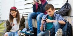 Relacionada adolescnetes redes sociales