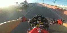 Relacionada video  arrollaron a biker que haci a acrobacias en la pe rez serna