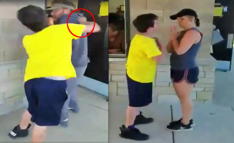 Niño 'sociópata' golpea a un adulto porque le impide rayar autos