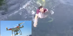 Relacionada rescata drone
