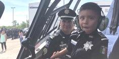 Relacionada cumplio  polici a federal suen o a nin o con ca ncer