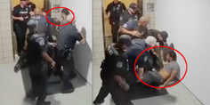 Relacionada policias golpean noquean hombre sin raz n