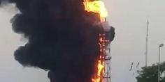 Relacionada incendio pemex