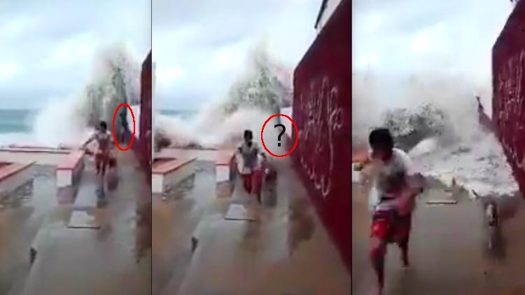 Huyen de olas del hurac n