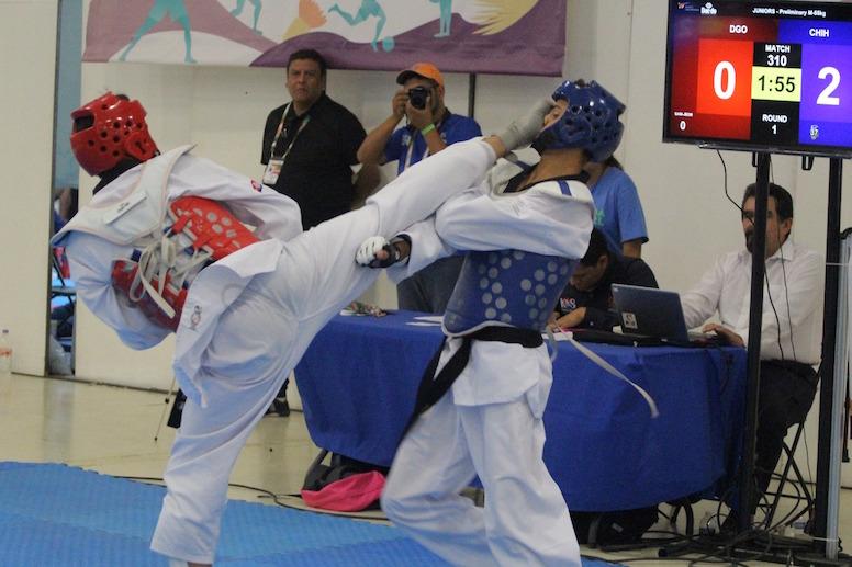 Ashley arana taekwondo