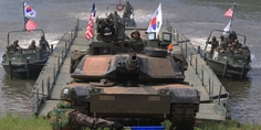 Relacionada south korea us war games