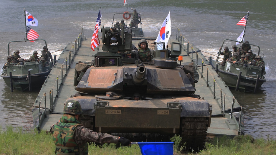 South korea us war games