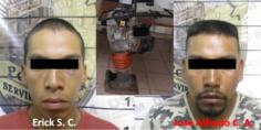 Relacionada foto detenidos compactadora