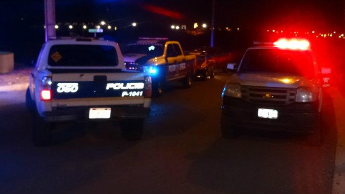 Movilizacion policiaca noche