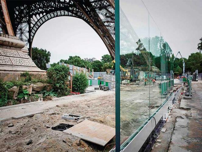 La nueva armadura de la Torre Eiffel es a prueba de terroristas