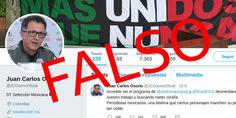 Relacionada falsa cuenta twitter juan carlos osorio