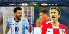 Relacionada messi modric argentina croacia