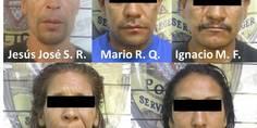 Relacionada 5 detenidos
