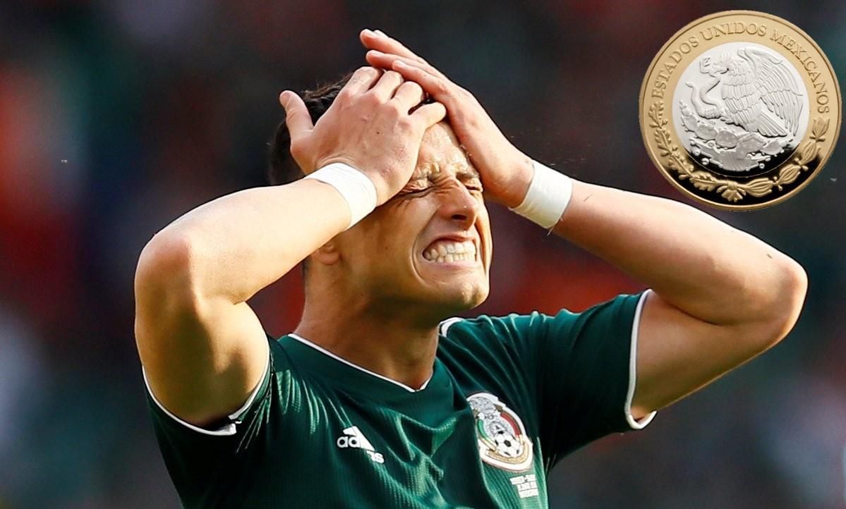 Peso mexicano chicharito dolar