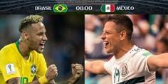 Relacionada mexico brasil dia horario fecha partido octavos de final