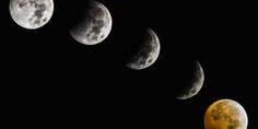 Relacionada eclipse lunar