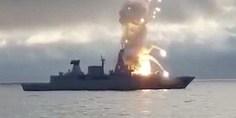 Relacionada misil explosion nave alemania