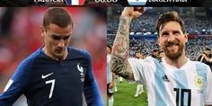 Relacionada francia argentina griezmann messi