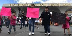 Relacionada manifestacion contra donald trump