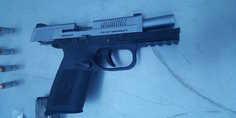 Relacionada pistola cal. 40