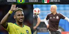 Relacionada neymar chicharito brasil mexico