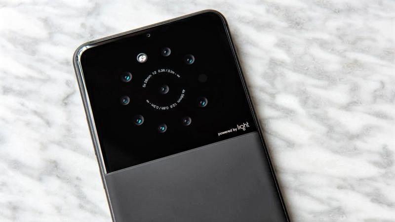 Light desarrolla un smartphone con nueve cámaras