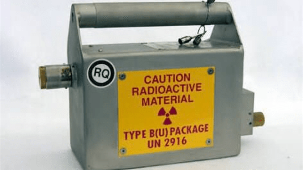 Emite PC alerta por robo de fuente radioactiva