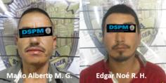 Relacionada detenidos con arma fuego