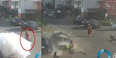 Relacionada explosion auto se ora rusia apenas se inmuta