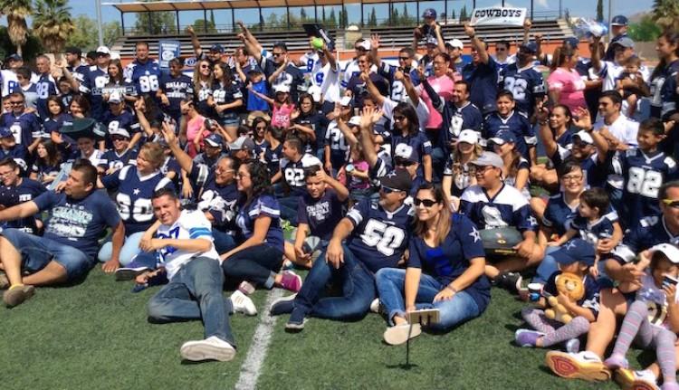 Foto fans cowboys
