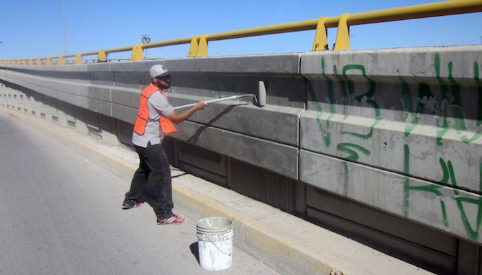 Retiro de grafiti