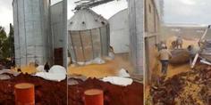 Relacionada colapso silo