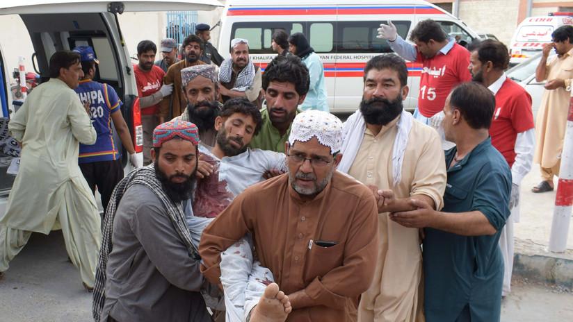 La campaña electoral se tiñe de sangre en Pakistán