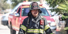 Relacionada bombero