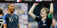 Relacionada final mundial rusia 2018 croacia francia