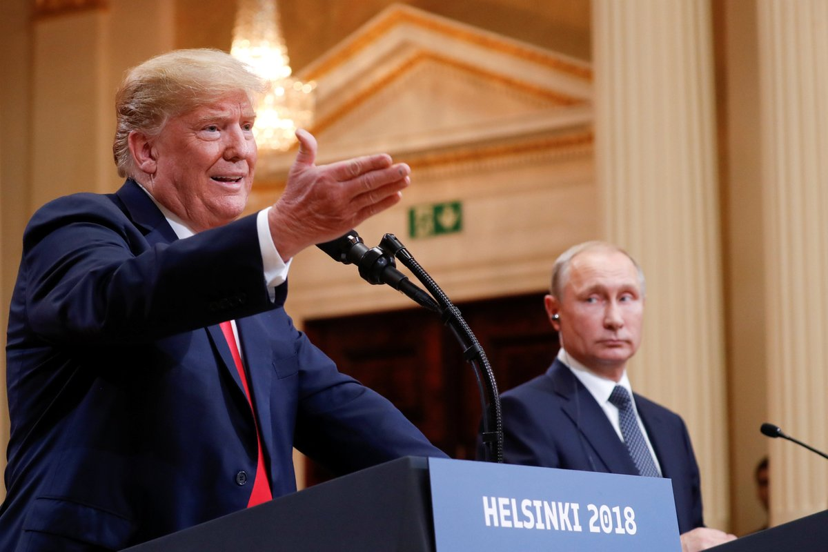 Trump tilda a Rusia, Unión Europea y China de 'enemigos'