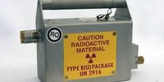 Relacionada fuente radioactiva
