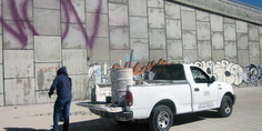 Relacionada borrado de grafiti libramiento