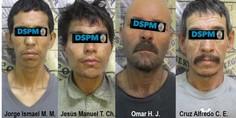 Relacionada detenidos por robo