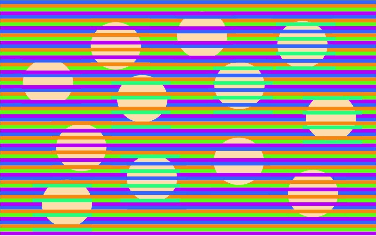 ¿Cuatro colores o uno solo?: Esta nueva ilusión óptica le dejará perplejo