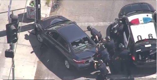 Detienen a sospechoso del tiroteo en Los Ángeles