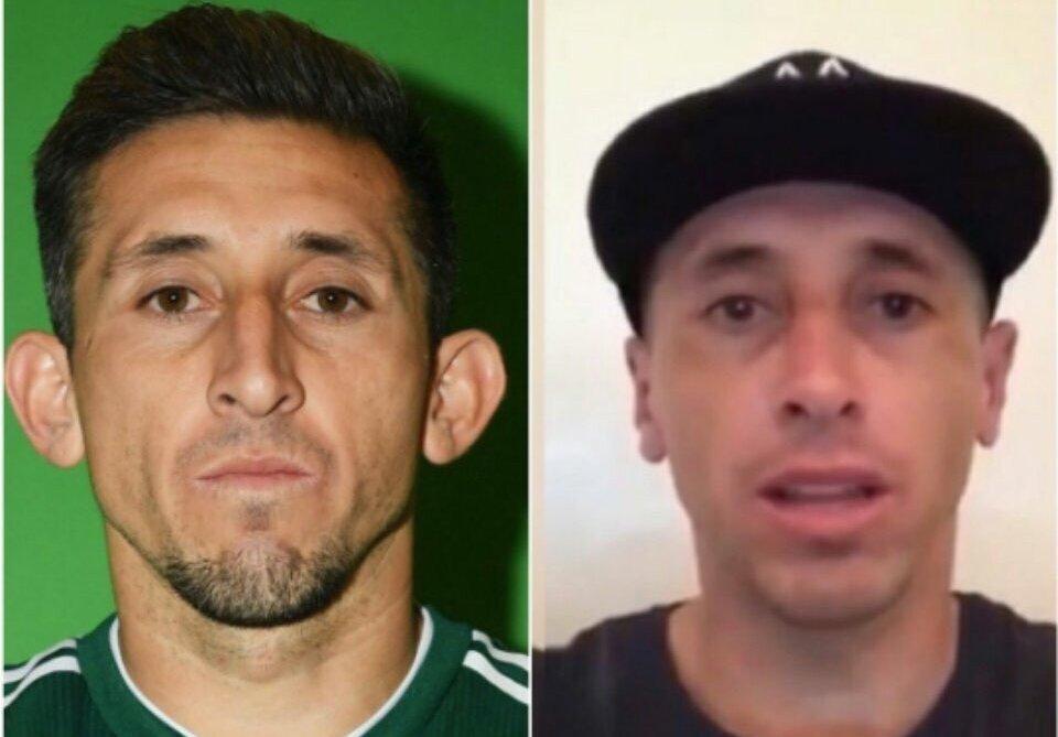 Héctor Herrera se opera la nariz por