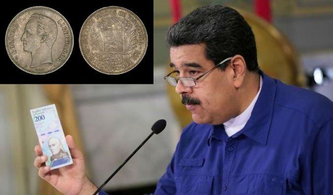 Maduro le quita cinco ceros al bolívar y lo ancla al Petro