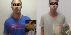 Relacionada detenidos por narcomenudeo