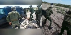 Relacionada balacera militares criminales