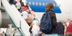Relacionada pasajeros avion