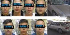 Relacionada menores detenidos