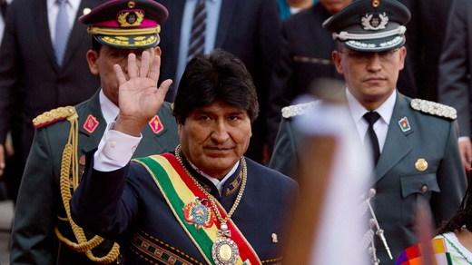 Bolivia morales cava